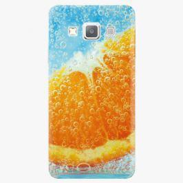 Plastový kryt iSaprio - Orange Water - Samsung Galaxy A7