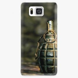 Plastový kryt iSaprio - Grenade - Samsung Galaxy Alpha