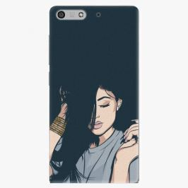 Plastový kryt iSaprio - Swag Girl - Huawei Ascend P7 Mini