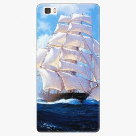 Plastový kryt iSaprio - Sailing Boat - Huawei Ascend P8 Lite