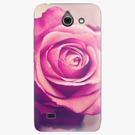 Plastový kryt iSaprio - Pink Rose - Huawei Ascend Y550