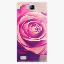 Plastový kryt iSaprio - Pink Rose - Huawei Honor 3C