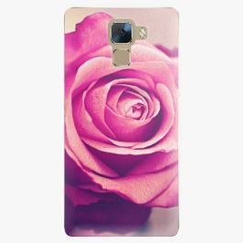 Plastový kryt iSaprio - Pink Rose - Huawei Honor 7
