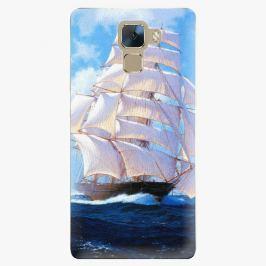 Plastový kryt iSaprio - Sailing Boat - Huawei Honor 7