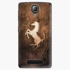 Plastový kryt iSaprio - Vintage Horse - Lenovo A1000