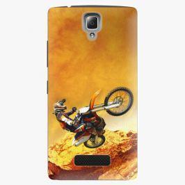 Plastový kryt iSaprio - Motocross - Lenovo A2010