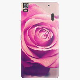 Plastový kryt iSaprio - Pink Rose - Lenovo A7000