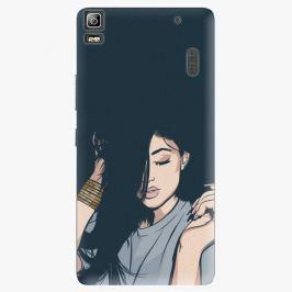 Plastový kryt iSaprio - Swag Girl - Lenovo A7000