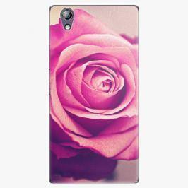 Plastový kryt iSaprio - Pink Rose - Lenovo P70