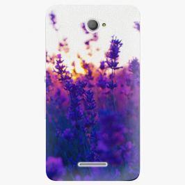 Plastový kryt iSaprio - Lavender Field - Sony Xperia E4