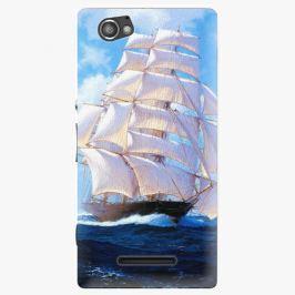 Plastový kryt iSaprio - Sailing Boat - Sony Xperia M