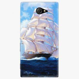 Plastový kryt iSaprio - Sailing Boat - Sony Xperia M2