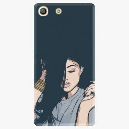 Plastový kryt iSaprio - Swag Girl - Sony Xperia M5
