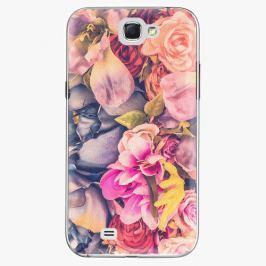 Plastový kryt iSaprio - Beauty Flowers - Samsung Galaxy Note 2