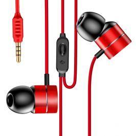 Sluchátka Baseus Encok 3.5mm jack - červená