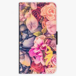 Flipové pouzdro iSaprio - Beauty Flowers - Samsung Galaxy A8 2018 Pouzdra, kryty a obaly na mobil